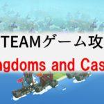 【Kingdoms and Castles攻略(1)】最初にすべき行動、基本の操作説明、井戸の重要性など。