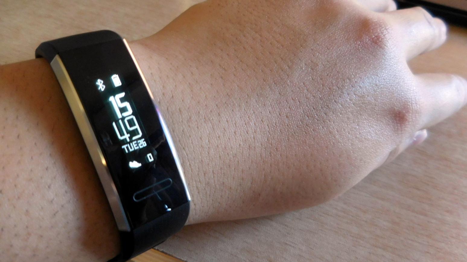 【実機レビュー】『Huawei Band 2』で健康管理!スマートウォッチは便利だ!
